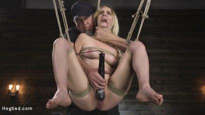 Kink.com- All Natural Cadence Lux Torment in Rope Bondage and Squirting Orgasms