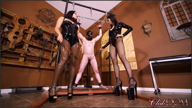 Clubdom.com- Michelle and Tangent_s Auction Slave 1: Ball Torture