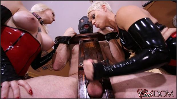 Clubdom.com- Milking their Pathetic Slave