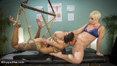 Kink.com- Lesbian Orgasm Clinic: Hot Patient Prescribed BDSM Squirting Therapy