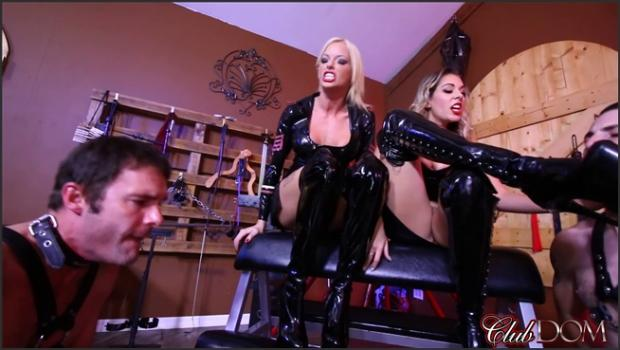 Clubdom.com- Slave Cum On Goddess Boots