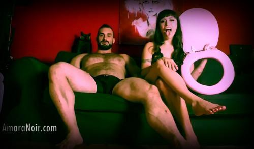 Amara Noir - Couples Toilet Cuck (5 роликов)