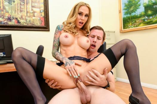Wankz.com- Extremely Sexy MILF Nina Elle Shows Why She_s the Boss HD
