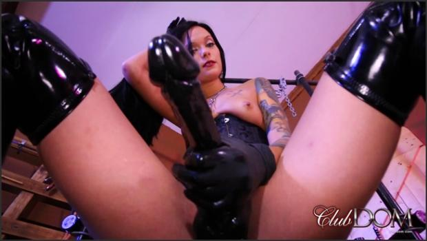 Clubdom.com- Stuffed For Goddess Maria
