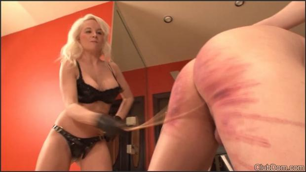 Clubdom.com- Two Mistresses Caning
