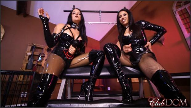 Clubdom.com- Michelle and Tangent_s Auction Slave