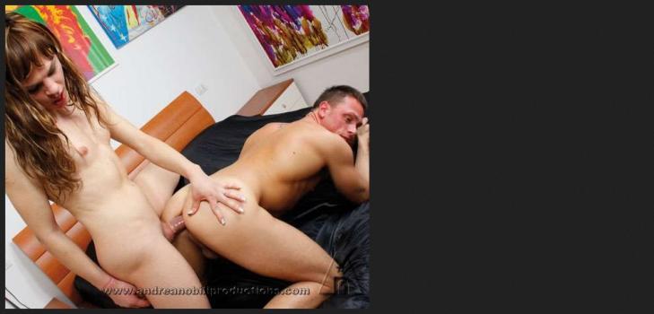 Pinkotgirls.com- Horny Trans  gets her ass screwed