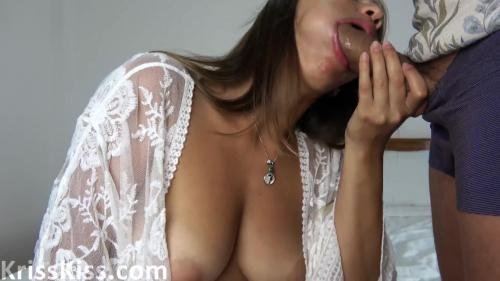 Beauty In White Peignoir Suck Huge Dick Lover And Cumshot On Boobs [amateurs]