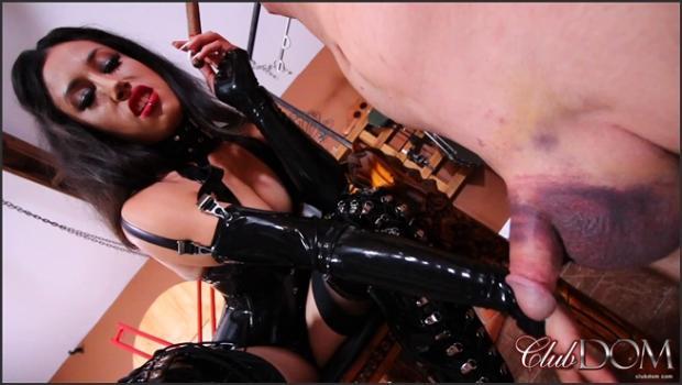 Clubdom.com- Goddess Tangent_s Cigar Slave
