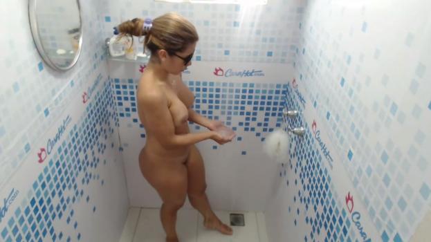 Voyeur-house.tv- New blond shower