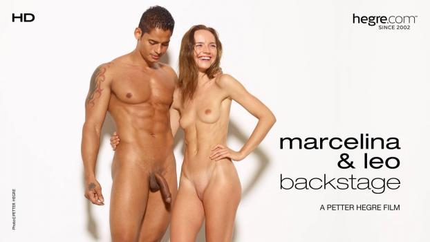 Hegre.com- Marcelina And Leo Backstage