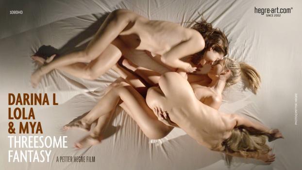 Hegre.com- Darina L Lola  Mya Threesome Fantasy