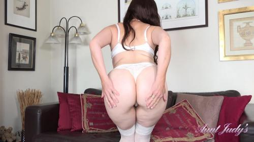 AuntJudys 20 08 23 Bored Housewife Kitty Seduces You Away From The TV XXX 1080p MP4-KTR