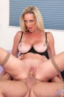 Milf Cassy Torri Flaunts Her Big Tits And Pleasures Herself With A Purple Vibrat