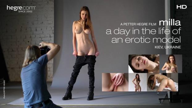Hegre.com- Milla –&nbspA day in the life of an erotic model