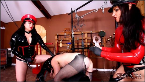 Clubdom.com- The Training of Slave 47 Part 5 - Strapon