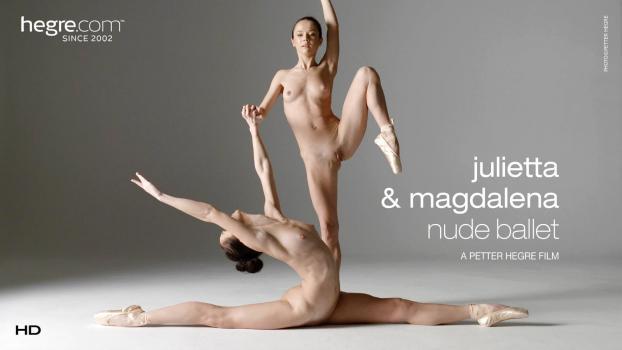 Hegre.com- Julietta and Magdalena Nude Ballet