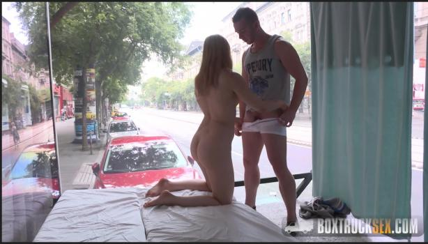 Boxtrucksex.com- Alana Moon Shows Off her Lingerie in a Public Erotic Photoshoot