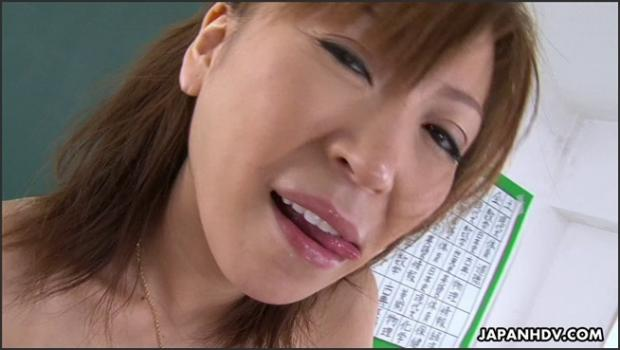 Japanhdv.com- Teacher Jun Kusanagi sucks and titty-fucks her student