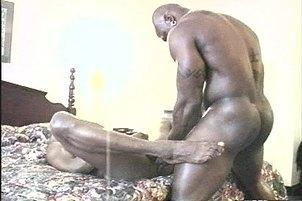 Awesomeinterracial.com- Hot Black Gangsta Deep in Ebony Ass