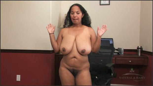 Auntjudys.com- Hairy black Delilah shares her hairy life with all us mere mortal