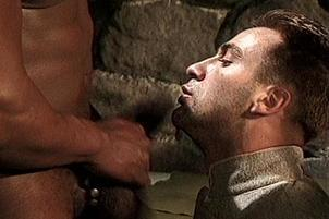 Awesomeinterracial.com- Troy Learns To Love Black Prison Dick