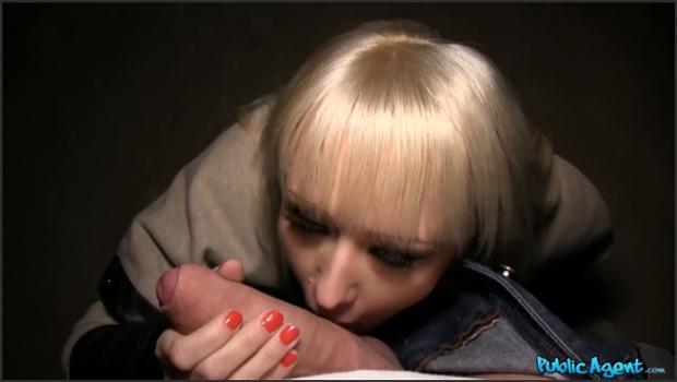 Fakehub.com- Blonde Fucked On Dark Staircase