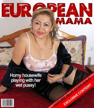 Mature.nl- Luisa (EU) (46) - Mature Luisa loves playing alone