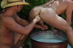 Awesomeinterracial.com- Giddy Up Bath Time For Cum Cowboys
