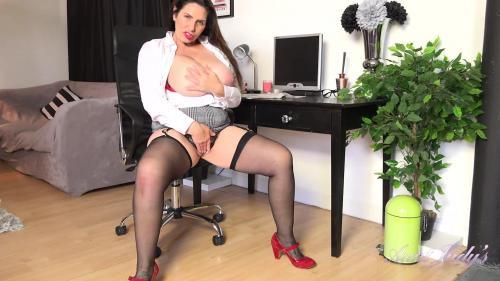 AuntJudys 20 08 09 Josephine Office Strip And Masturbation XXX 1080p MP4-KTR
