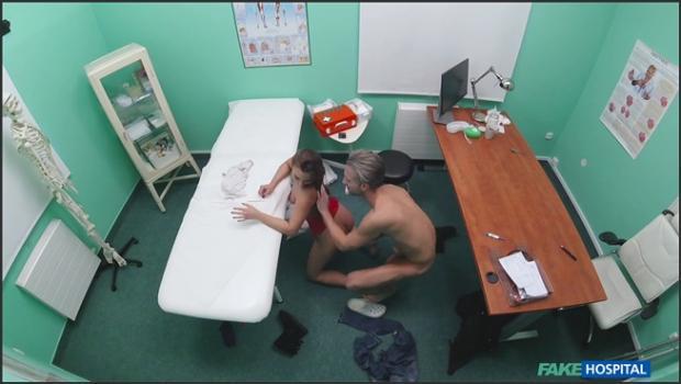 Fakehub.com- Sexy ass patient swallows cum