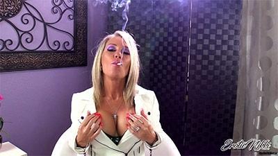 Eroticnikki.com- Smoke Fan or Tit Man?