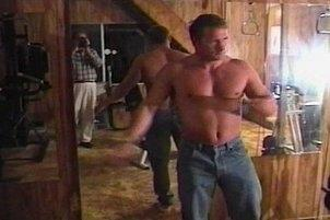 Awesomeinterracial.com- Hot Muscle Bound Stud Spunks On Himself