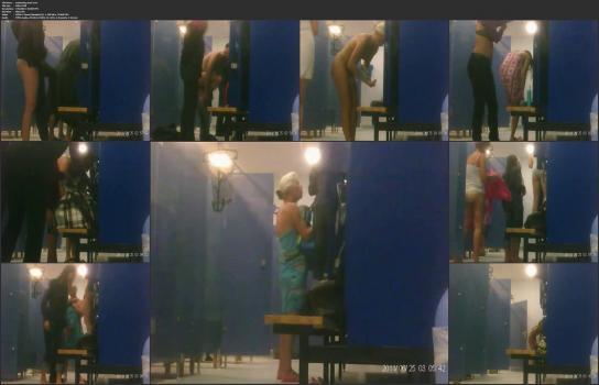 Shower room and locker room videos HD - swimming-pool-2