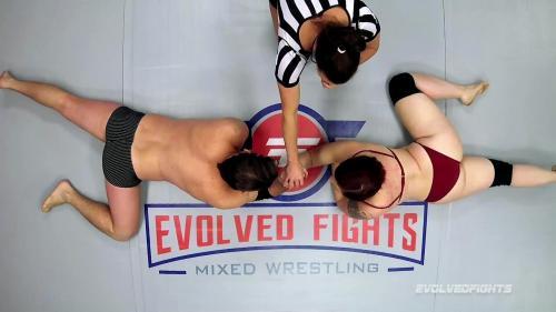 EvolvedFights 20 08 13 Mistress Kara Arm Wrestling XXX 1080p MP4-WEIRD