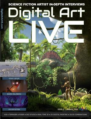 Digital Art Live – August 2020